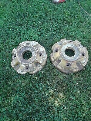 Massey Harris Tractor Front Wheel Weights Jb40