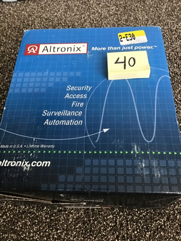 Altronix SMP3ET Power Supply/Charger Kit - New!