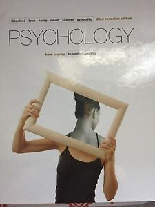 Psychology- Third Canadian Edition- Hardcover