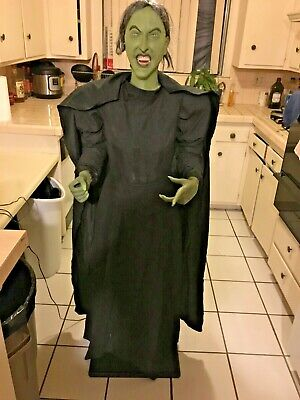 Gemmy Wizard of OZ Wicked Witch LIFESIZE PROP. NON WORKING. AS IS. Static prop.