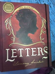 The Beatrice Letters by Lemony Snicket book