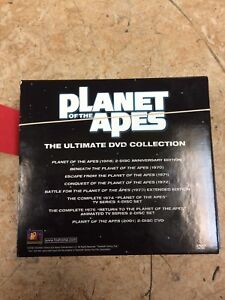 Planet of the Apes DVD collection