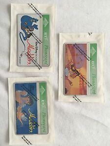 Very Rare Phone cards Set Of Three