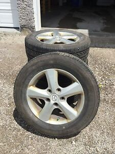 Bridgestone Tires and Mazda rims,  195/65/r15