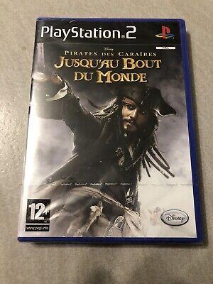 NEUF NEW disney pirates des caraïbes bout du monde playstation PS2 français