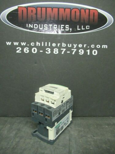 SCHNEIDER CONTACTOR LC1D09 25 AMP 600 VAC 3 POLE 7.5 HP COIL: G7 120 VAC