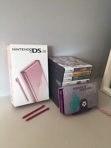 Nintendo DS Lite and 9 Games all in Original Packaging
