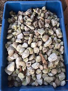 Free rock for flowerbed