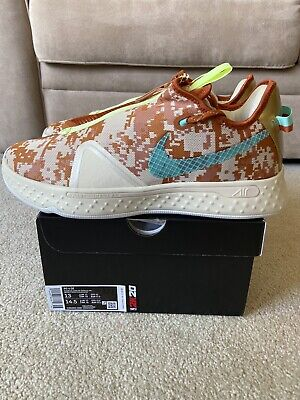 Nike PG 4 GE 2k Gamer Exclusive CZ6203-200 Digi Camo Size 13 Gatorade In Hand DS