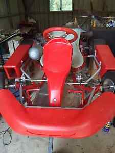 Adult race kart with Yamaha KT100S engine Ipswich Ipswich City Preview