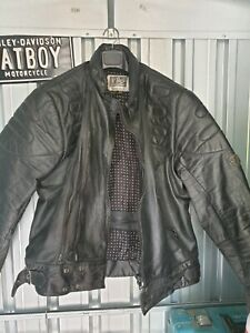 R-Jays, vintage leather motorcycle jacket.