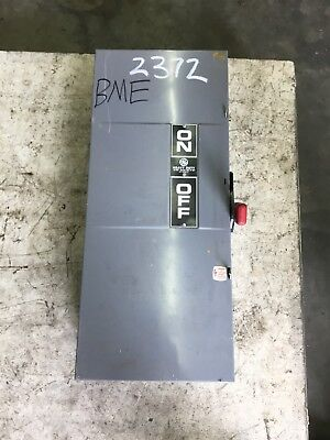 General Electric Th3364 200 Amp 600 Vac Disconnect Switch Type 1 Enclosure