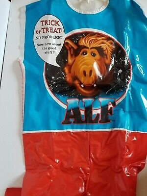 Vintage Alf TV Show KIds Halloween Costume Collegeville