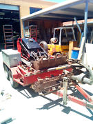 Toro tx425 with trencher and trailer. Beverley Charles Sturt Area Preview