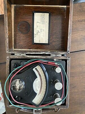 Antique Weston D.c. Volt-ammeter Model 1 1926