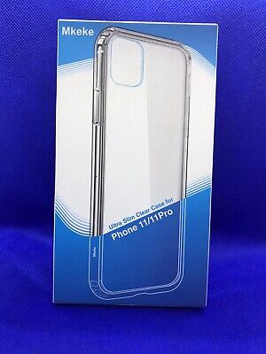 Mkeke iPhone 11 / 11 Pro Ultra Slim Clear Case 5.8 Inch
