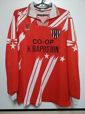 SIZE XL Nea Salamina Cyprus 1990s Home Football Shirt Jersey California image