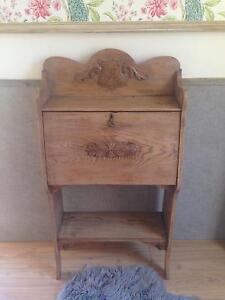 Antique Provincial Bureau Desk McLaren Flat Morphett Vale Area Preview