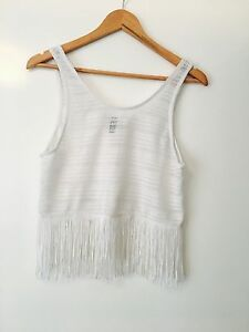 White top with fringe Como South Perth Area Preview