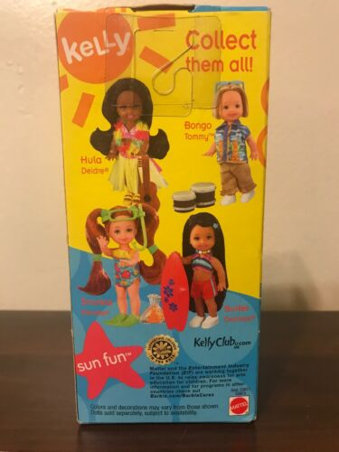 Barbie Sun Fun Kelly Series Surfer, Desiree, G3975, 2003 Brand New In Box - $19.99