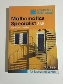 year 12 Maths Specialist ATAR WACE Study Guide 3AB OT Lee