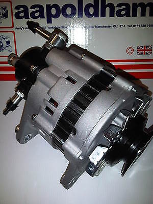 ISUZU TROOPER 31 TD DIESEL 1991 1998 BRAND NEW 80A ALTERNATOR  BRAKE VAC PUMP