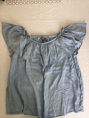 Designed Alexander Jordan Bardot Style Top Size 1X (18-20) Nwot