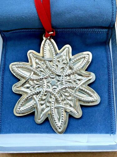 2003 TOWLE Sterling Silver CHRISTMAS SNOWFLAKE Ornament CELTIC New in BOX UNUSED