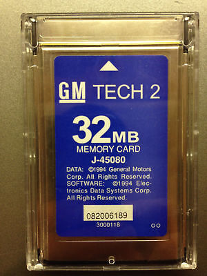GM NAO Tech 2 Memory Card 32MB 33.004 1991-2013 Tech2 Diagnostic Scanner TIS for sale  Shipping to South Africa