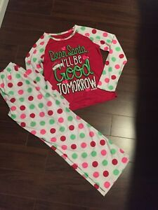 Size 14 youth Justice Christmas Pyjamas