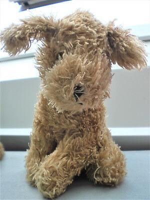 Kinder Spielzeug Stofftier Hund(18 X 15cm) Hell Braun