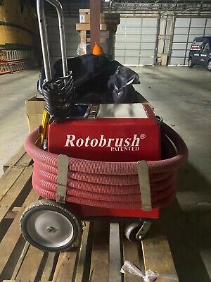 Used Rotobrush Air Duct Cleaner Owners Manual Included