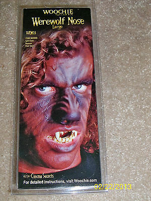 WOOCHIE LARGE WEREWOLF LATEX NOSE APPLIANCE MAKEUP COSTUME FA36](Woochie Nose)
