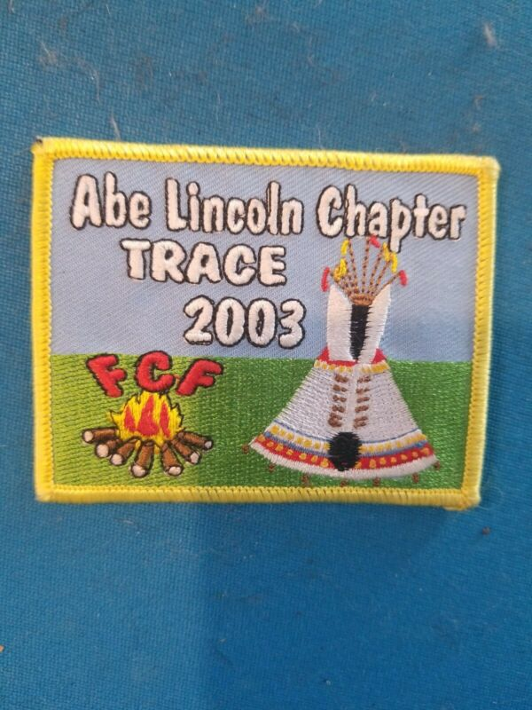 Royal Rangers Abe Lincoln Chapter Trace 2003 Uniform Patch