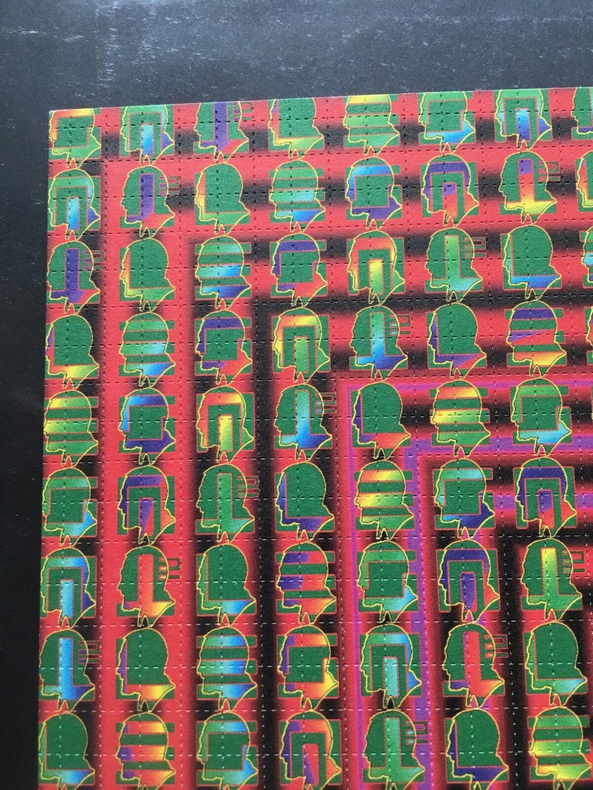 Timothy Leary Puddle Vintage LSD Blotter Art - Mark McCloud Dirty Dozen - $45.00