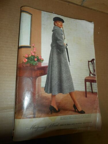vintage 1956 57 montgomery ward fall winter catalog 1147 pgs department store