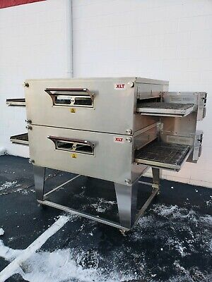2013 Xlt Model 3255 Double Stack Gas Pizza Ovens 32 Belt Widthlittle Caesars