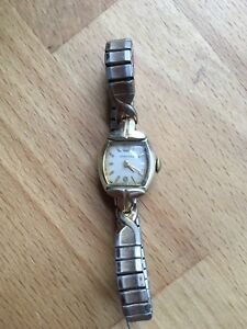 Vintage Longines gold filled watch
