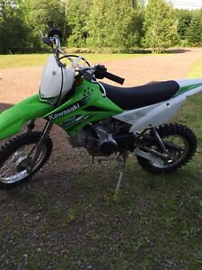 2013 Kawasaki KLX110L (manual clutch)