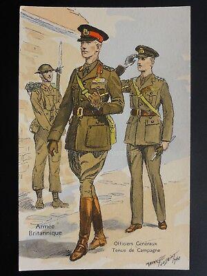 Military: Armee Britannique, Artillerie, Tenue de Campagne - M Toussaint c1940