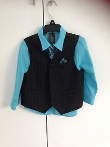 Boys vest, shirt and tie Warrimoo Blue Mountains Preview