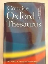 Concise Oxford Thesaurus Rockhampton Rockhampton City Preview