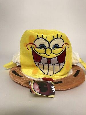 SpongeBob Squarepants Adult Plush Figure Funny Top Hat Halloween Party Costume