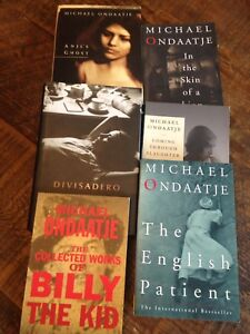 Six Michael Ondaatje novels