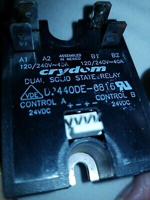 Ngc-3005 Turbochef Solid State Relay Dual 40-amp