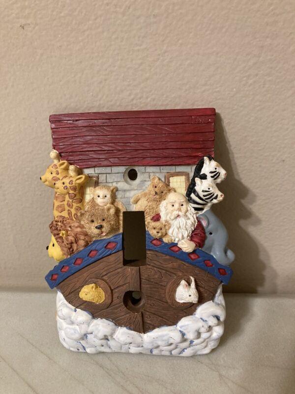 Noahs Ark Baby Nursery Crib Room Decor Light Switch Cover