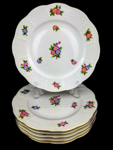 Herend Chinese Flowers (PC) Dessert Plates 6 pcs.