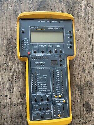 Fluke Networks 635a Quickbert-t1 Handheld T1 Tester 635