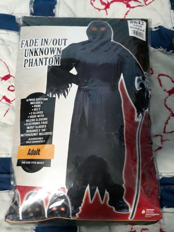 Party City Adult Unknown Phantom Halloween Costume