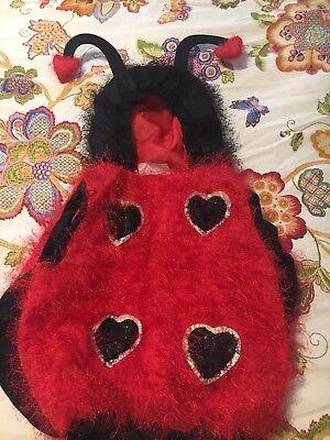 Infant Lady Bug Vest Costume 24M - Infant Bug Costume